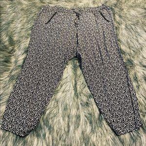 Gap pattern drawstring pants size XXL
